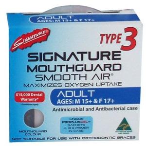 SIGNATURE MOUTHGUARD ADULT TYPE 3