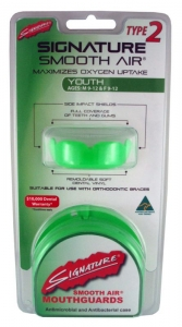 SIGNATURE MOUTHGUARD TYPE 2 YOUTH H/S