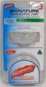 SIGNATURE MOUTHGUARD TYPE 3 ADULT H/S