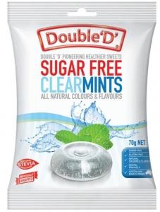 DOUBLE D CLEAR MINTS 70G