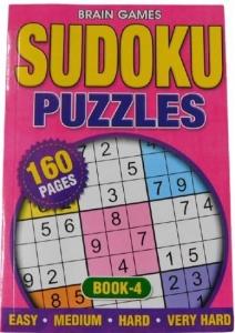 SUDOKU PUZZLES BOOK4 160PGE