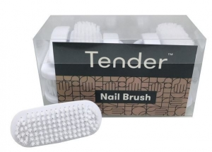 TENDER NAIL BRUSH PLASTIC UNIT 12