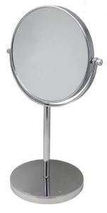 METAL PEDESTAL MIRROR 1X10 DOUBLE SIDED