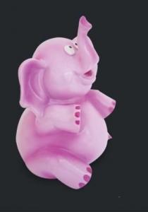 ELEPHANT MONEY BOX PINK MIN 2PC BUY(SO)