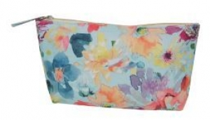 COSMETIC PURSE TROPICAL FLORAL+++